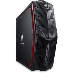 Sistem desktop gaming Acer Predator G1-710 Intel Core i5-6400 2.70GHz, Skylake, 8GB, 2TB + 256GB SSD, DVD-RW, nVidia GeForce GTX 1060 3GB, Windows 10 Home, Black