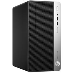 Sistem desktop HP ProDesk 400 G4 MT Intel Core i3-7100 3.90 GHz, Kaby Lake, 4GB, 500GB, DVD-RW, Intel HD Graphics, Free DOS
