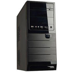 Sistem desktop Serioux Classic AMD A4 AMD A4 X2 4000 3.2GHz, 2GB DDR3, 500GB HDD, DVD-RW, Tastatura + Mouse Optic