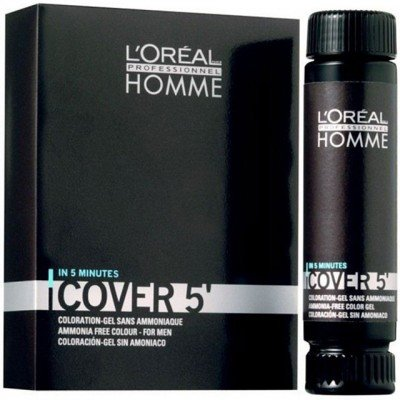 Gel colorant Homme Cover 5 - 4 Brown