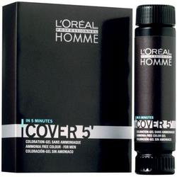 L'Oreal Professionnel Gel colorant Homme Cover 5 - 4 Brown