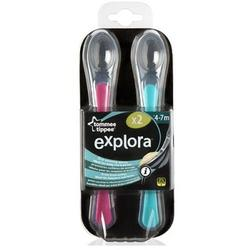 Tommee Tippee Explora Silicon Spoons Set