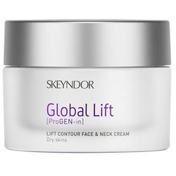Skeyndor Crema de zi Global Lift- Lift Contur Face & Neck Dry Skin, 50 ml