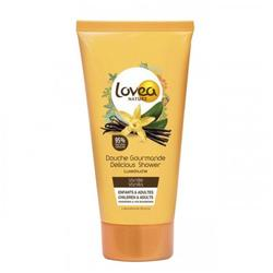 Lovea Gel de dus Gourmande cu extract de Vanilie, 50 ml