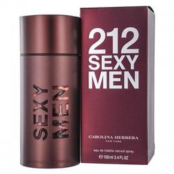 Carolina Herrera Parfum de barbat 212 Sexy Men Eau de Toilette 100ml
