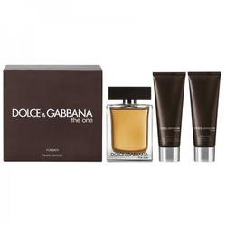 Dolce & Gabbana Set cadou The One Eau de Toilette 100 ml + gel de dus 50 ml + after shave balsam 50 ml