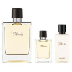 Hermes Set cadou Terre Eau de Toilette 100 ml + Eau de Toilette 5 ml + lotiune after shave 40 ml