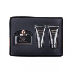 Salvatore Ferragamo Set cadou Signorina Misteriosa Eau de Parfum 50 ml + body lotion 50ml + gel de dus 50 ml