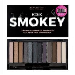 Makeup Revolution London Paleta de culori Iconic Smokey