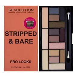 Makeup Revolution London Paleta de culori Pro Looks Stripped & Bare
