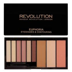 Makeup Revolution London Paleta de culori Euphoria Bare