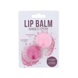 2K Beauty Balsam de buze Duo Lip Balm Strawberry + Raspberry