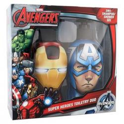 MARVEL Set ingrijire par Avengers Iron Man Shampoo 300ml & Captain America Shampoo 300ml