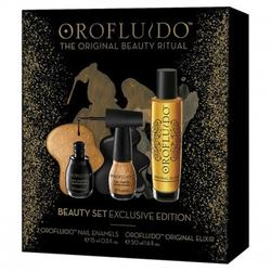 Orofluido Set Elixir 50ml + Nail Enamel 15ml x 2