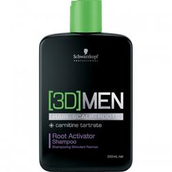 Schwarzkopf Professional Sampon [3D]MEN Root Activator 250ml
