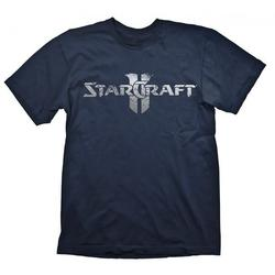 Gaya Entertainment STARCRAFT 2 STARCRAFT LOGO SILVER TSHIRT XL