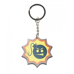 Gaya Entertainment SERIOUS SAM BOMB LOGO KEYCHAIN