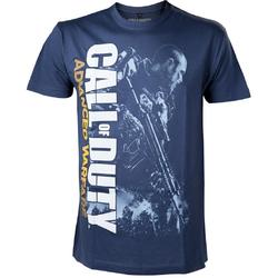 Bioworld Europe CALL OF DUTY ADVANCED WARFARE SOLDIER BLUE TSHIRT M