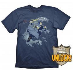 Gaya Entertainment DOTA 2 KUNKKA TSHIRT XL + INGAME CODE