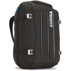 Rucsac laptop Thule Crossover Duffel Pack 40L, Compartiment Safe-Zone, Black/Blue