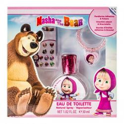 Disney Set cadou Masha and The Bear Eau de Toilette 30ml + cercei + bratara