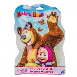 Disney Parfum pentru copii Masha and The Bear 9.5ml + stickers + semn de carte