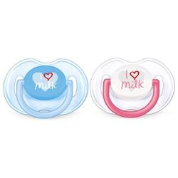Philips Classic Pacifier Pack Blue Pink 0 - 6 Months