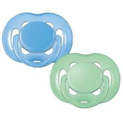 Philips Free Flow Blue Green Pacifier Pack 6 - 18 Months