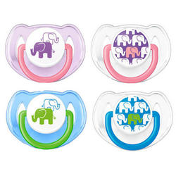 Philips Fashion Pacifiers Orthodontic 6 -18 Months 2 Pack
