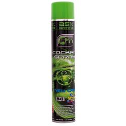 GLOBIZ Cockpit Spray 750 ml – Agent de intretinere al bordului – aroma New Car  - Mat