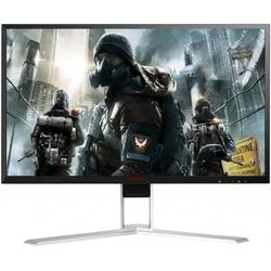 Monitor LED AOC Gaming AG241QX 24 inch 2K 1ms Black-Silver FreeSync 144Hz