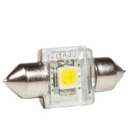 Bec auto LED auxiliar Philips C5W Xtreme Vision, 5 x more light, 12V, 1W, 6000K, 1 Buc