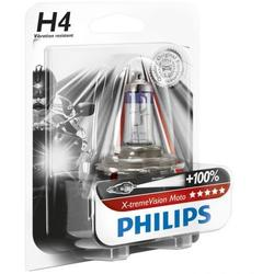 Bec far Philips H4 Xtreme Vision, +100%, 12V, 55W