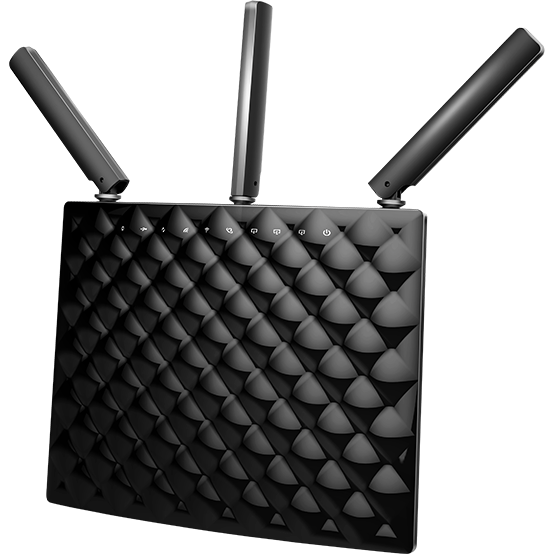 Router Wireless Ac15, Ac1900, 3 Antene Externe, Dual Band