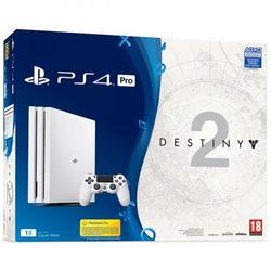 Sony Playstation 4 PRO Console, 1 TB Edition, Albums plus Destiny 2 game