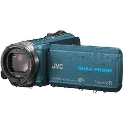 JVC Camera video Quad-Proof RX GZ-RX645AEU, Full HD, Wi-Fi, Albastru