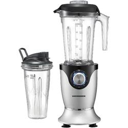 Heinner Blender HBL-HS1000XMC, 1000 W, 22000 RPM, 7 Speeds, Pulse function, 2 tritan containers 1.45 l + 0.7 l, Gray