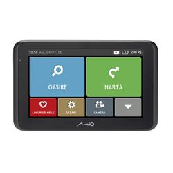 "Sistem de navigatie + camera video integrata Mio MiVue Drive 50 FEU, diagonala 5"", card 16 GB inclus, Harta Full Europe + Update gratuit al hartilor pe viata"