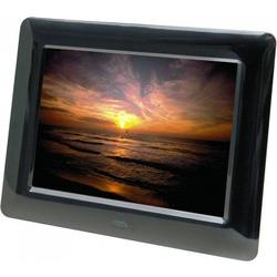 "Braun Rama foto digitala DIGIFRAME 800 Weather, 8"", Black"