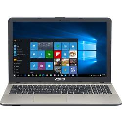Laptop ASUS 15.6'' X541NA,  Intel Celeron Dual Core N3350 , 4GB, 500GB, GMA HD 500, Win 10 Home, Chocolate Black, no ODD