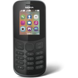 Telefon mobil Nokia 130 (2017), Single SIM, Black