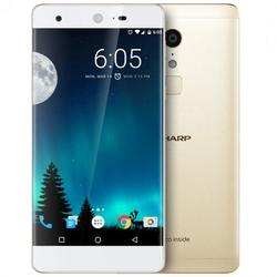 Sharp Telefon mobil A1, 4G, Dual SIM, Deca-Core Helio X20, 4GB RAM, 32GB, 16 MP, Android 6.0, Gold