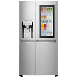 LG Side by Side GSX961NSAZ, No Frost, Door in Door, 601 L, Class A++, Water dispenser, Silver