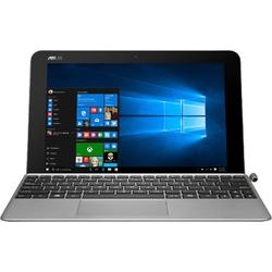"Laptop 2 in 1 ASUS 10.1"" Touchscreen, Intel Quad-Core Atom x5-Z8350 up to 1.92 GHz, 2GB, 64GB eMMC, Intel HD Graphics, Windows 10, Gray"