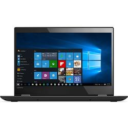 "Laptop 2 in 1 Lenovo YOGA 520-14IK Intel Core i3-7100U 2.40 GHz, Kaby Lake, 14"", Full HD, IPS, Touchscreen, 4GB, 1TB, Intel HD Graphics, Windows 10 Home, Black"