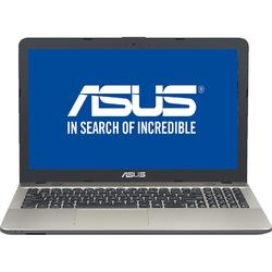 "Laptop ASUS A541NA-GO181 Intel Quad-Core Celeron N3450 pana la 2.20 GHz, 15.6"", 4GB, 500GB, DVD-RW, Intel HD Graphics, Endless OS, Chocolate Black"