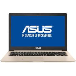 "Laptop ASUS Pro 15 N580VD-DM291 Intel Core i5-7300HQ up to 3.50 GHz, Kaby Lake, 15.6"", Full HD, 4GB, 500GB + 128GB SSD, nVIDIA GeForce GTX 1050 2GB, Endless OS, Gold"