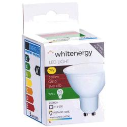 Whitenergy bec LED | GU10 | 8 SMD 2835 | 7W | 230V | lapte | MR16