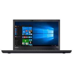 Laptop Lenovo 14'' ThinkPad T470p, FHD, Intel Core i7-7700HQ , 8GB DDR4, 256GB SSD, GeForce 940MX 2GB, Win 10 Pro