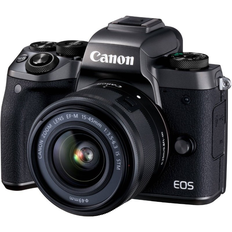 Aparat Foto Mirrorless Eos M5 Kit Ef-m 15-45 Is Stm